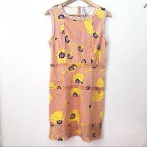 Gregory Parkinson marigold blush velvet dress